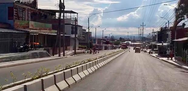 Calle 50 de Armenia a un paso de ser entregada