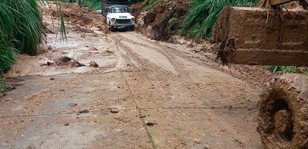 Invierno obliga a suspensión de obras y afecta vías en un 70% de municipios en el Valle