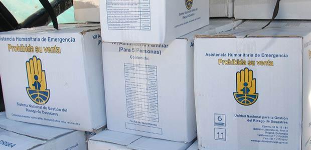 Gobierno del Valle intensifica entrega de ayudas humanitarias a damnificados por lluvias