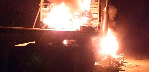 Rechazo al ataque en el que resultó quemado tractocamionero en protestas en Buenaventura
