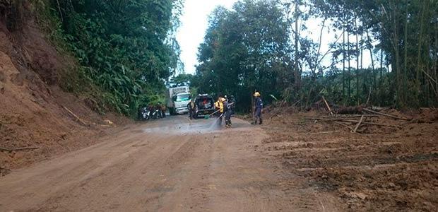 Mintransporte, Invías y Gobernación del Quindío evaluarán necesidades para la vía Pijao - Génova