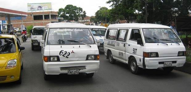 Nuevas tarifas para del servicio público de transporte tipo microbús y taxi en Cartago