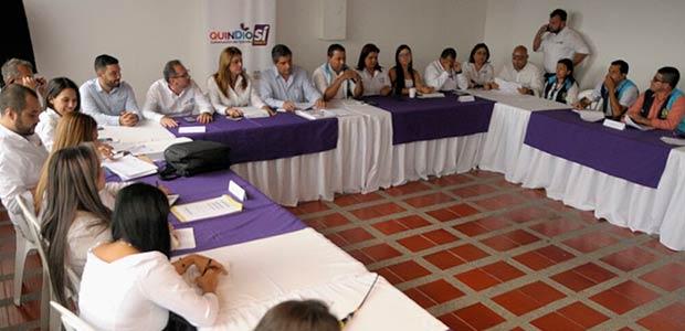 En consejo de gobierno ampliado, se analizaron las principales necesidades de Quimbaya