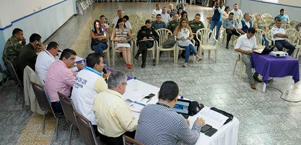 Gobernador del Quindío fortalece la seguridad en Quimbaya