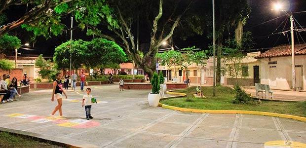 Entrega de obras de mejoramiento en el barrio la Floresta de Cartago
