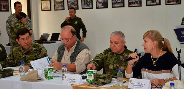 Aumentarán pie de fuerza en el Valle para combatir el crimen organizado y acciones del ELN