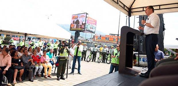 Gobernador de Risaralda destaca indicadores de seguridad en Dosquebradas