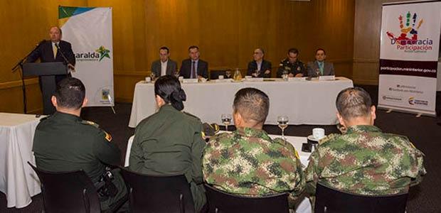 En Dosquebradas y Chocó se realizará consejo de seguridad ministerial