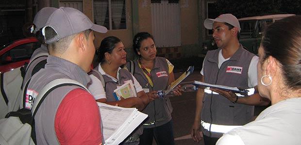 Gobierno municipal acompaña encuesta que adelanta el DANE en Cartago