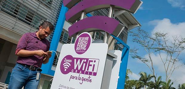 Risaraldenses usan masivamente las 57 zonas WiFi gratuitas