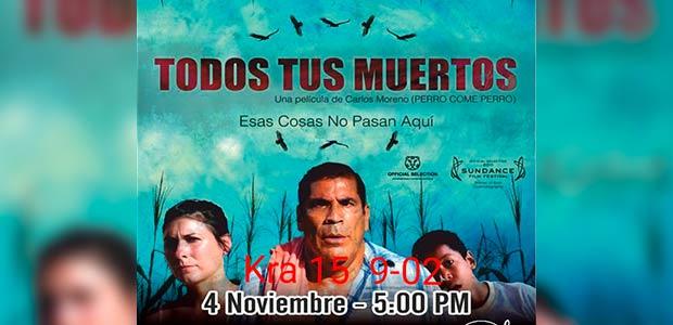 En centro de memoria de Cartago se realizará evento cultural gratuito que incluye cine
