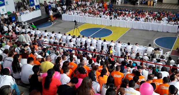 Gobernadora le cumplió a la seguridad, la salud, el deporte y la inclusión social en Cartago