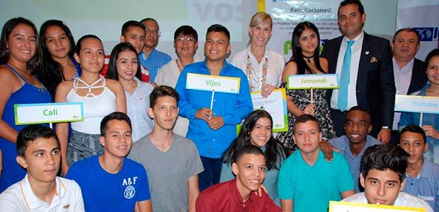 """""""Los más porras"""" del Valle recibe galardón nacional en la """"Noche de los mejores"""" de Mineducación"""