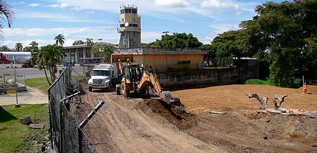 Primera fase de obras del aeropuerto internacional El Edén avanzan satisfactoriamente