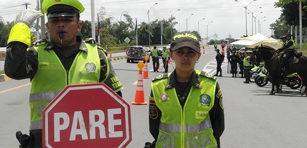 Plan de seguridad vial del  Valle para puente de fin de año tiene el apoyo de la secretaría de movilidad