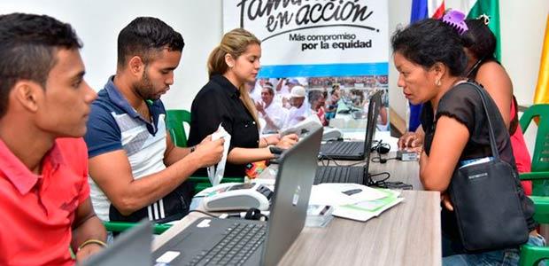 Beneficiarios desde hoy en Cartago cobran sexto pago de más familias en acción