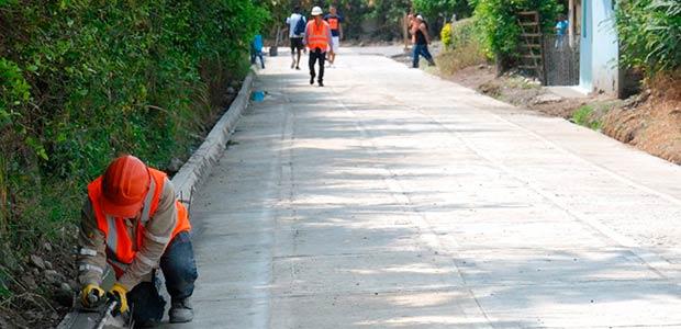 Placas huellas han mitigado afectaciones por temporada de lluvias en el Valle del Cauca