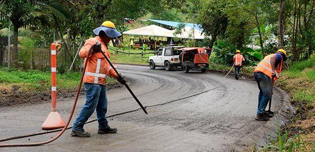 Vía de entrada al municipio de Salento ya está siendo intervenida