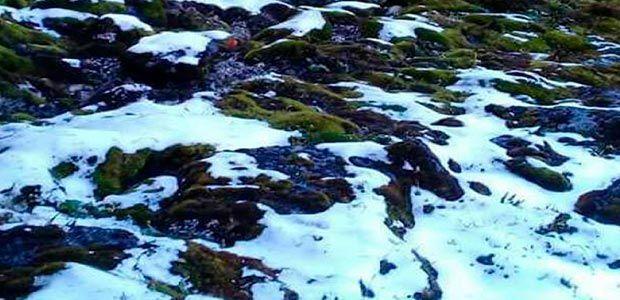 CVC y comunidades indígenas conservan  páramo de Las Tinajas donde volvió a nevar