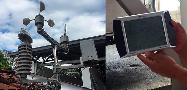 Bomberos de Cartago ya cuenta con estación meteorológica