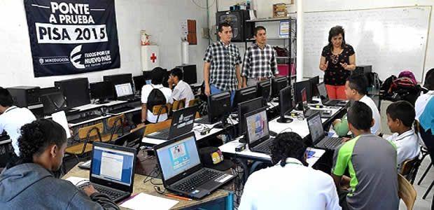 Institución Educativa Empresarial de Dosquebradas fue elegida para presentar las Pruebas PISA