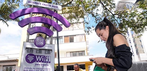 Con nuevas zonas Wifi contará Cartago