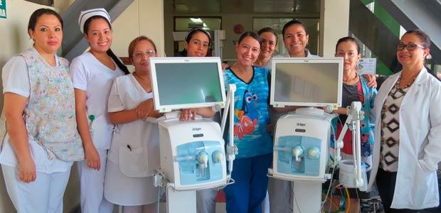 Nuevos equipos biomédicos para la unidad de recién nacidos del hospital San Juan de Dios de Armenia