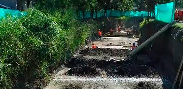 Canalización del zanjón Lavapatas va por buen camino