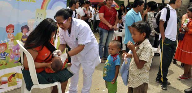 El sábado a ponerse al día en vacunación