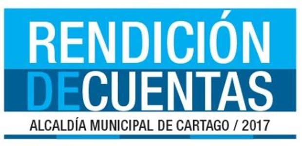Hoy es la audiencia Pública de Rendición de Cuentas del 2017 del Municipio de Cartago