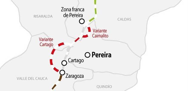 Valle del Cauca y el Eje Cafetero estarán conectados vía tren