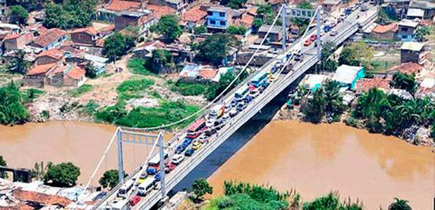 Gobierno del Valle hizo demoler zapata en obra del nuevo puente de Juanchito como medida preventiva