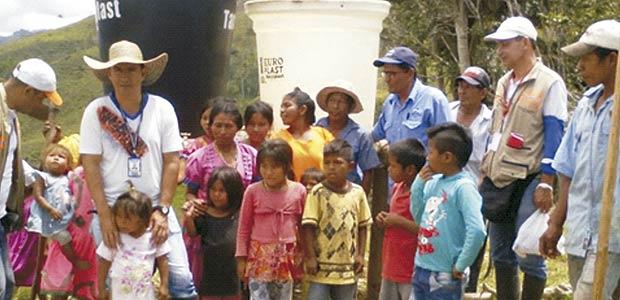 'Si hubiera carretera podríamos salvar a los niños enfermos'