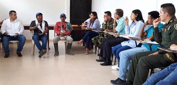 Comisión humanitaria por muerte de 5 niños indígenas en el Valle