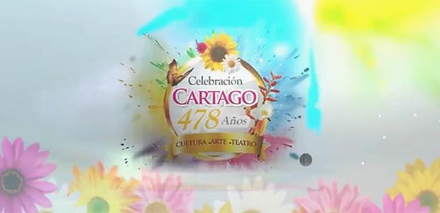 Disfrute desde hoy la programación de la celebración del aniversario de Cartago 478 años