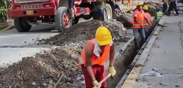 Más sectores beneficiados con obras de Emcartago