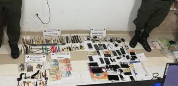Realizan operación contra la extorsión carcelaria en Manizales