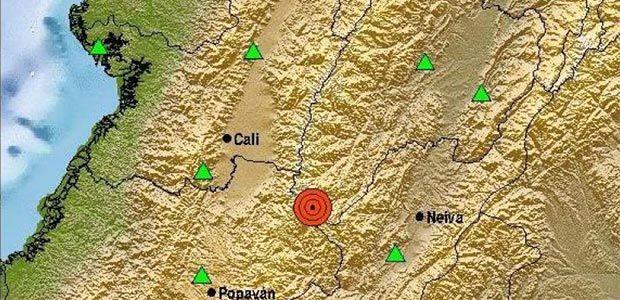 Fuerte sismo de 5.5 se sintió en el país