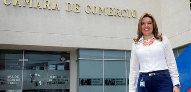Murió Mónica Osorio Gil, presidenta de la Cámara de Comercio de Cartago