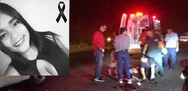 Joven cartagüeña muere en accidente de tránsito
