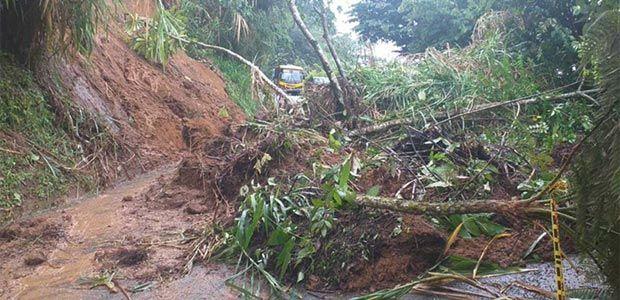 Deslizamientos de tierra tienen en emergencia a Risaralda