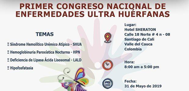 Valle del Cauca será sede de I Congreso Nacional de Enfermedades Huérfanas, raras y ultra huérfanas