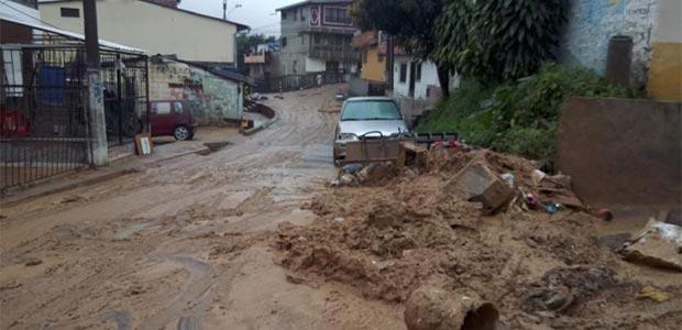 Hay emergencias en siete departamentos del país por incremento de las lluvias