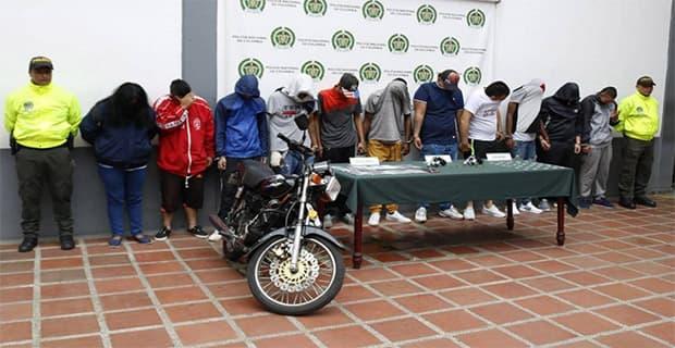 Capturados presuntos integrantes de la banda delincuencial 'Los de frontera'