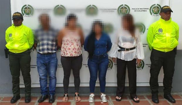 Abuelos y mujeres integraban banda delincuencial que robaban locales comerciales
