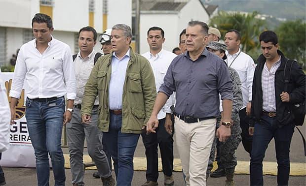 Gobierno destina $18 mil millones para atender a damnificados y mitigar riesgos en Risaralda