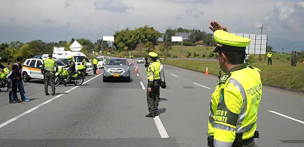 Cinco personas muertas dejan accidentes en el Valle durante el puente festivo