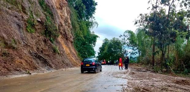 Municipios de Risaralda de nuevo en alerta por riesgo de deslizamientos