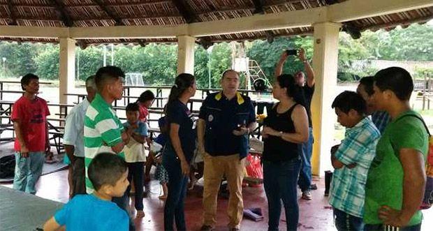 50 familias indígenas afectadas por lluvias en Bolívar recibieron la primera ayuda humanitaria