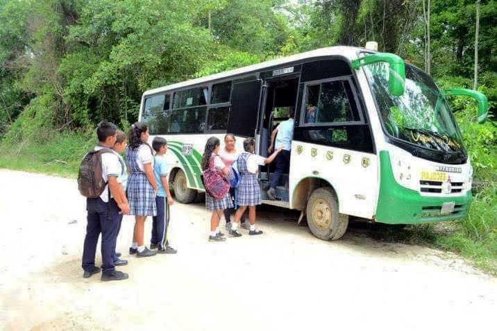El transporte escolar en zona rural está garantizado en Cartago